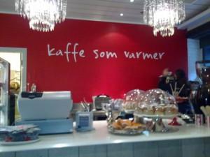 Bilde av disken - Kaffe som varmer