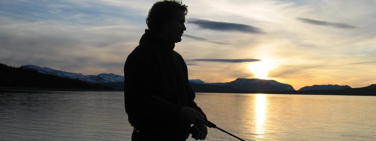 Fiske på Golsfjellet