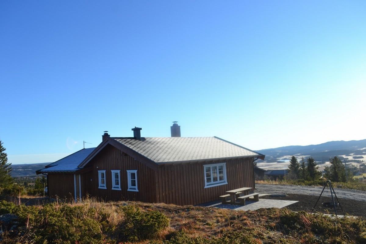 Vidsyn – hytte til leie på Golsfjellet