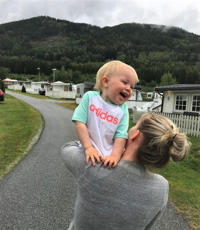 Vi elsker campinglivet!