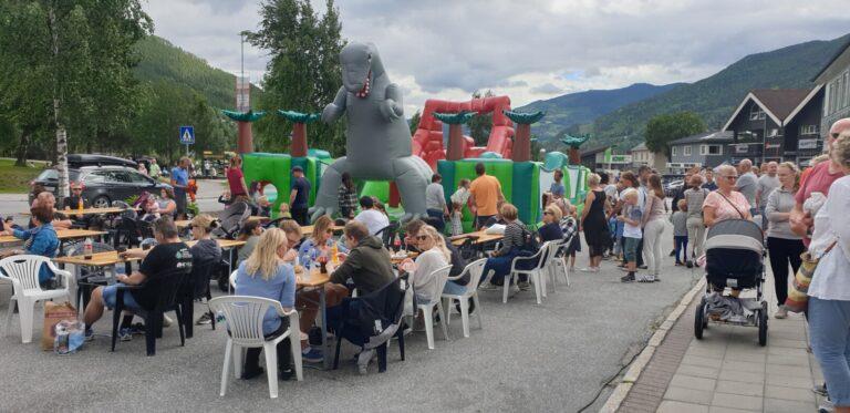 Sommer aktiviteter i Gol sentrum!